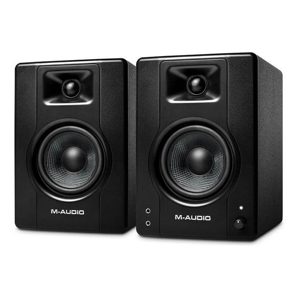 送料込 格安激安 M-Audio BX4 モニタースピーカー [正規販売店] 4.5インチ 120W パワード デスクトップ モニタリング スピーカー smtb-TK