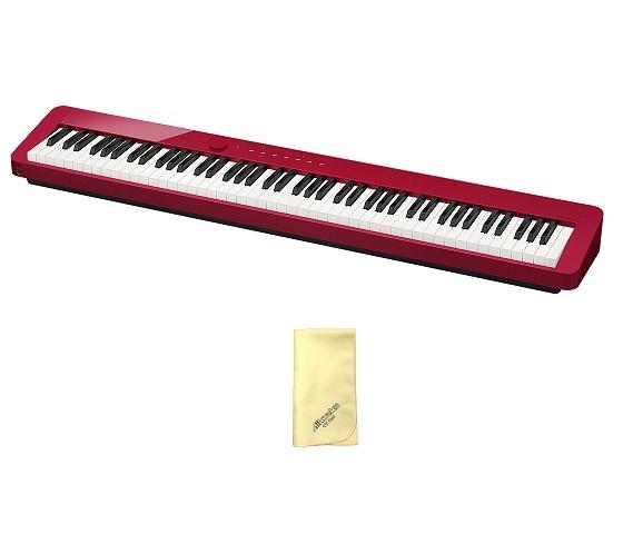 【送料込】【愛曲クロス付】CASIO カシオ PX-S1000RD レッド Privia プリヴィア 電子ピアノ【smtb-TK】
