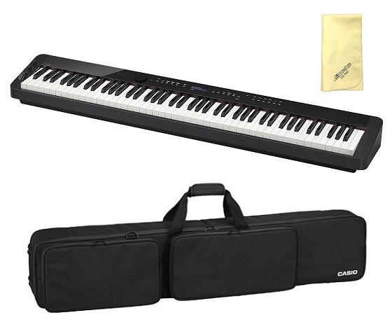 【送料込】【愛曲クロス付】【専用ソフトケース/SC-800P付】CASIO カシオ PX-S3000BK Privia プリヴィア 電子ピアノ【smtb-TK】