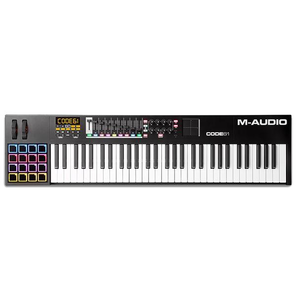 【ポイント5倍】【送料込】M-Audio エムオーディオ Code 61 Black USB/MIDI キーボード コントローラー 【smtb-TK】