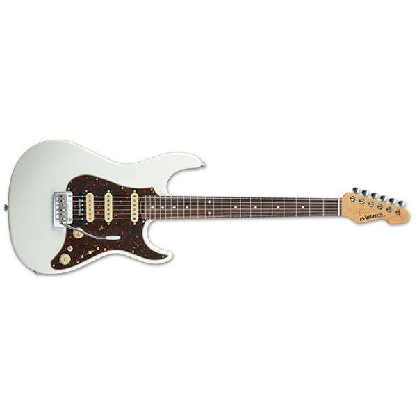 【送料込】EDWARDS エドワーズ E-SN-ALR 22/SSH/R White エレキギター【smtb-TK】