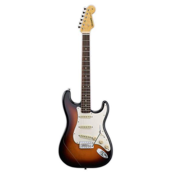 【送料込】edwards エドワーズ E-ST-125ALR 3 Tone Sunburst ストラトタイプ エレキギター【smtb-TK】
