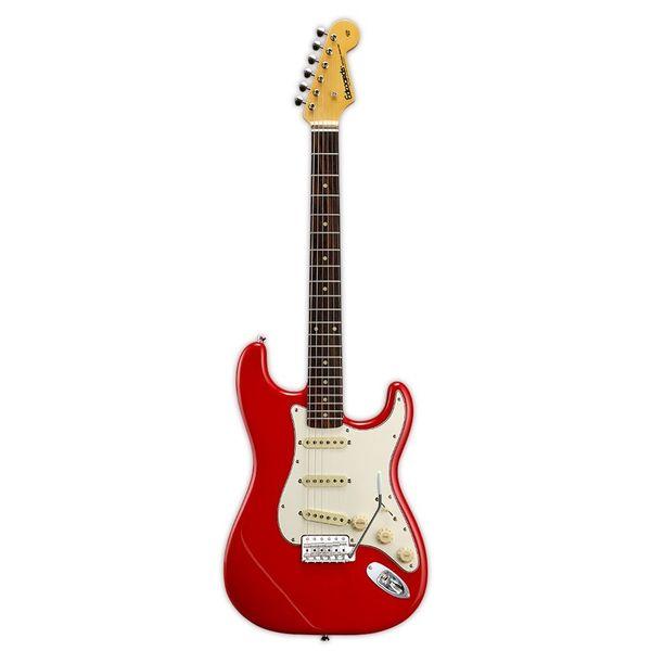 【送料込】edwards エドワーズ E-ST-125ALR Trino Red ストラトタイプ エレキギター【smtb-TK】