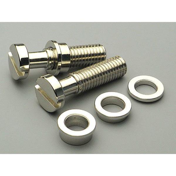【メール便・送料無料・代引不可】FIXER フィクサー Tailpiece Lock System ミリ/ニッケル テールピース ロックシステム 【smtb-TK】