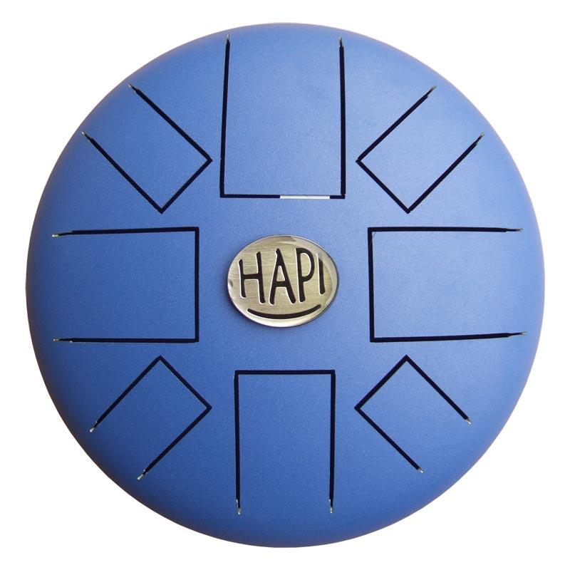【送料込】HAPI Drum HAPI-D2-B/Indigo Blue [Dマイナー] スティール・タング・ドラム 【smtb-TK】