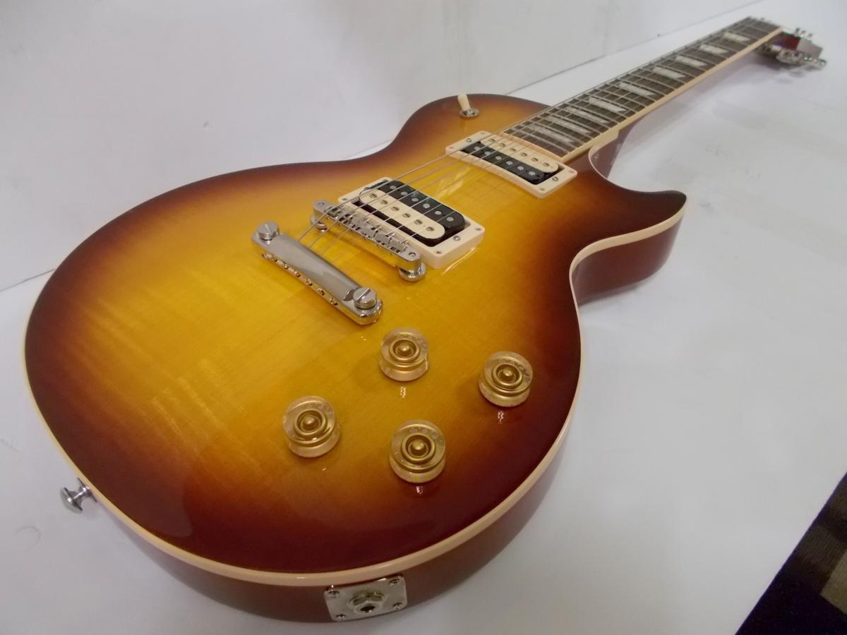 【送料込】【店頭展示品】Gibson ギブソン Les Paul Classic Plus Iced Tea【アピタ稲沢店在庫】【smtb-TK】