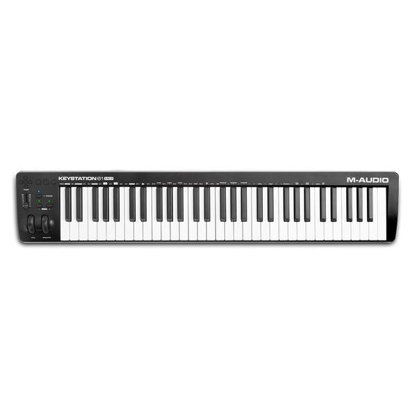 【送料込】M-Audio エムオーディオ Keystation 61 MK3 USB/MIDI キーボード コントローラー 【smtb-TK】