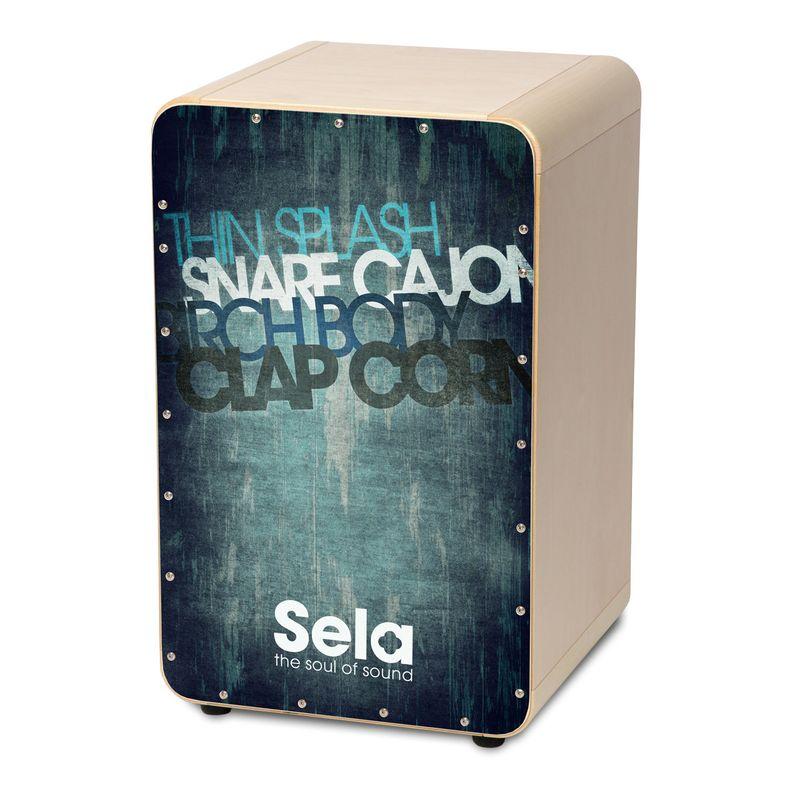 【送料込】Sela CaSela Vintage Blue SE078 スネア・カホン 【smtb-TK】