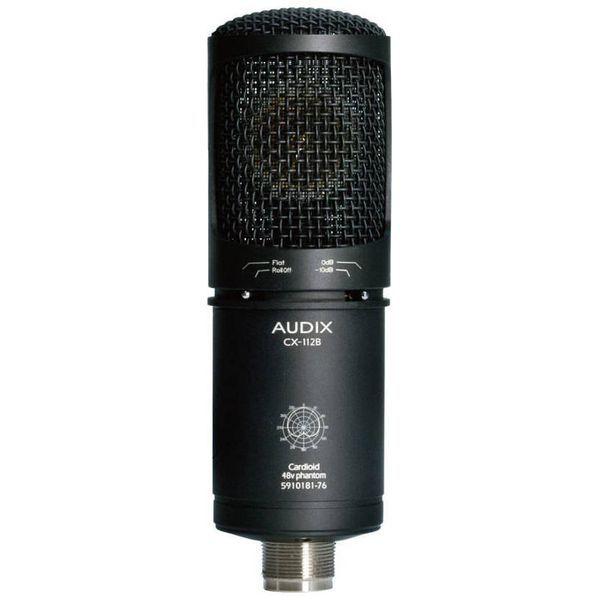 【送料込】AUDIX オーディックス CX112B ボーカル、アコースティックギター向け コンデンサーマイク【smtb-TK】