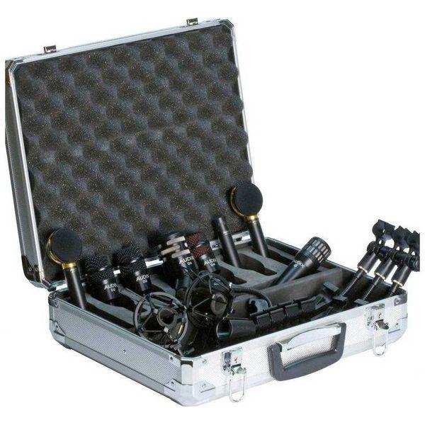【送料込】AUDIX オーディックス STE8 Studio Elite 8 ドラム、パーカッション向け ハイグレードマイク8点セット【smtb-TK】
