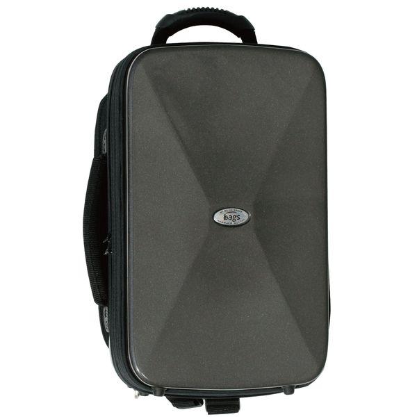 【送料込】bags バッグス EF2CL-M.GRY クラリネット2本用(B♭管+A管) ファイバーグラス製 ハードケース【smtb-TK】