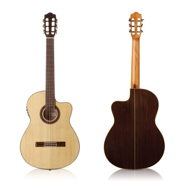 【送料込】【ギグバッグ付】Cordoba/コルドバ GK Studio Negra FISHMAN プリアンプ搭載 エレガット クラシックギター【smtb-TK】
