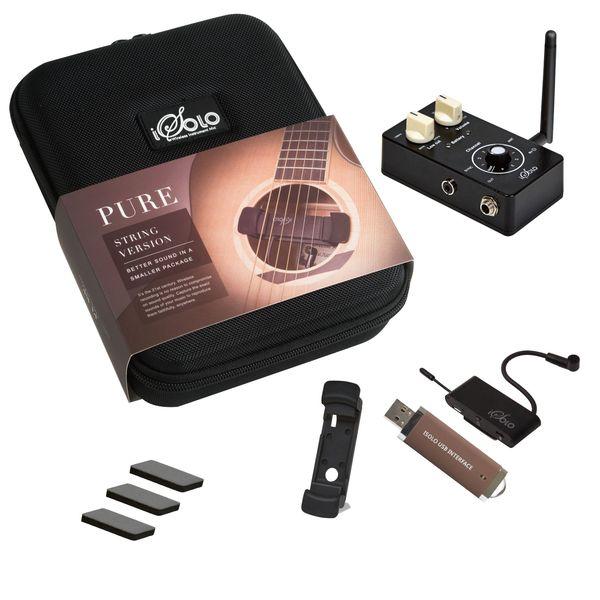 【送料込】iSolo PURE String ワイヤレス・レコーディング・システム ギター/ウクレレ/バイオリン 他弦楽器用 【smtb-TK】