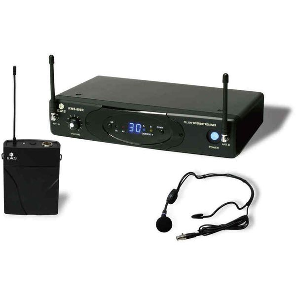 【送料込】K.W.S KWS-899P/HM-38 KIKUTANI ワイヤレスシステム ヘッドセット シングルタイプ 【smtb-TK】