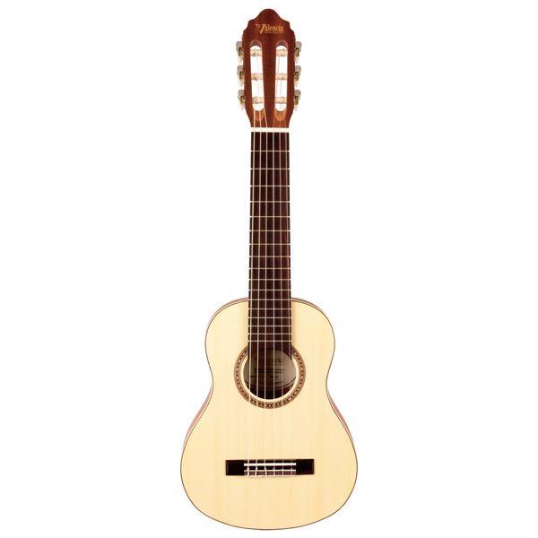 【送料込】【ケース付】Valencia バレンシア VC350 全長740mm トラベルサイズ ミニ・クラシックギター 【smtb-TK】