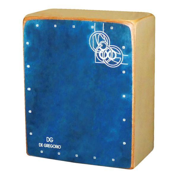 送料込 De Gregorio DG 通販 激安◆ Mini 激安卸販売新品 smtb-TK Cajon ミニカホン BLUE
