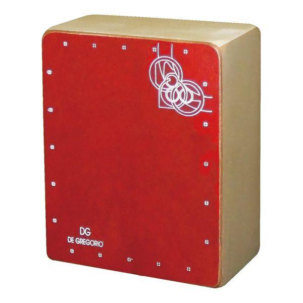 送料込 De Gregorio DG Mini RED ミニカホン 大規模セール 高級 Cajon smtb-TK