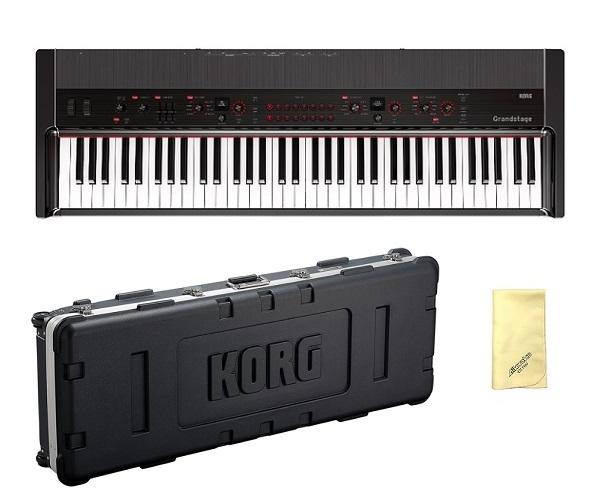 【送料込】【愛曲クロス付】【専用ハードケース/HC-GRANDSTAGE-73付】【専用スタンド付属】KORG Grandstage 73 GS1-73 ステージ・ピアノの新たなマスターピース【smtb-TK】