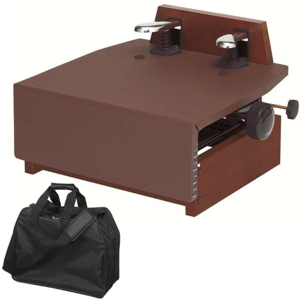 送料込 メーカー在庫限り品 キャリングバッグ付 甲南 KP-DX ブラウン ウォルナット 返品交換不可 ピアノ補助ペダル smtb-TK