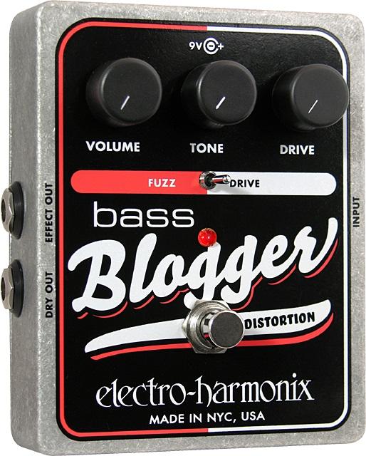 【送料込】【国内正規品】electro-harmonix/エレクトロハーモニックス Bass Blogger ディストーション/オーバードライブ【smtb-TK】