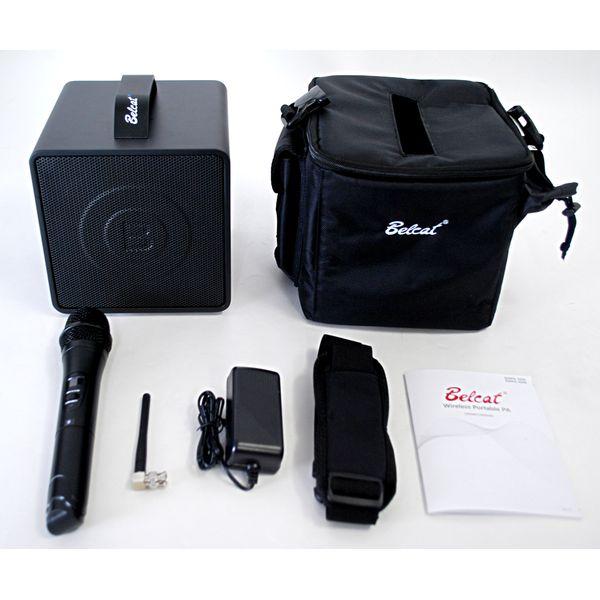 【送料込】Belcat ベルキャット BWPA-30W/3 (806.375MHz) ワイヤレス ポータブル PAシステム(1チャンネル)【smtb-TK】