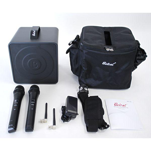 【送料込】Belcat ベルキャット BWPA-40W/9-28 (807.125・809.500MHz) ワイヤレス ポータブル PAシステム(2チャンネル)【smtb-TK】