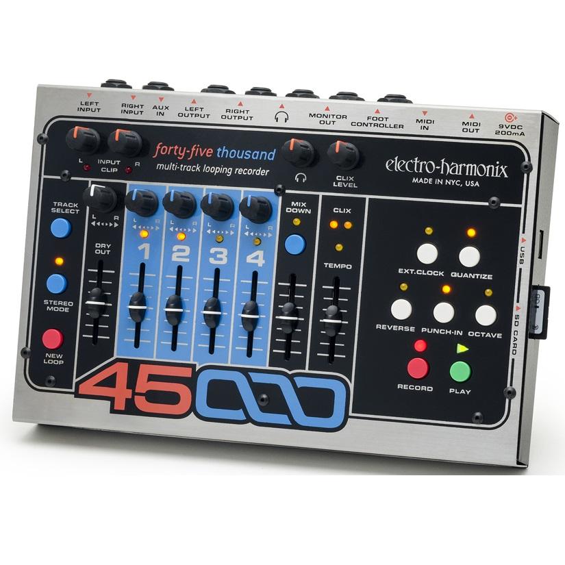 【送料込】【国内正規品】electro-harmonix/エレクトロハーモニックス 45000 マルチトラック ルーピング レコーダー【smtb-TK】