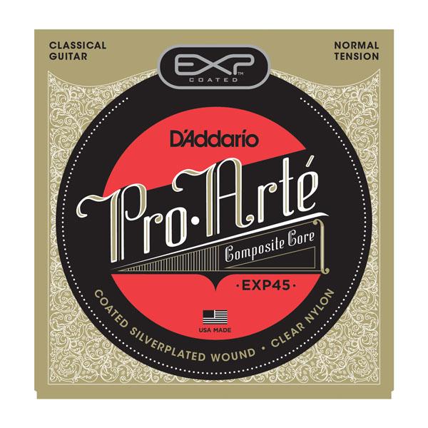 【メール便・送料無料・代引不可】【弦×10セット】ダダリオ D'Addario EXP45×10 EXPコーティングクラシックギター弦[ノーマルテンション]【smtb-TK】