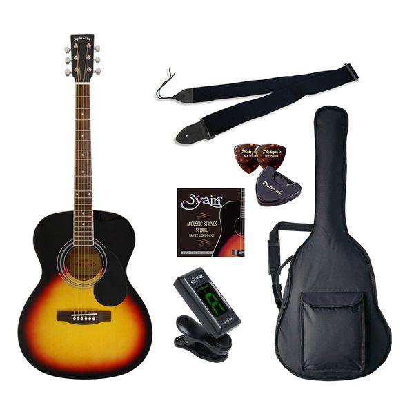 【送料込】【初心者入門6点セット】Sepia Crue セピアクルー FG-10/VS アコースティックギター ライトセット【smtb-TK】