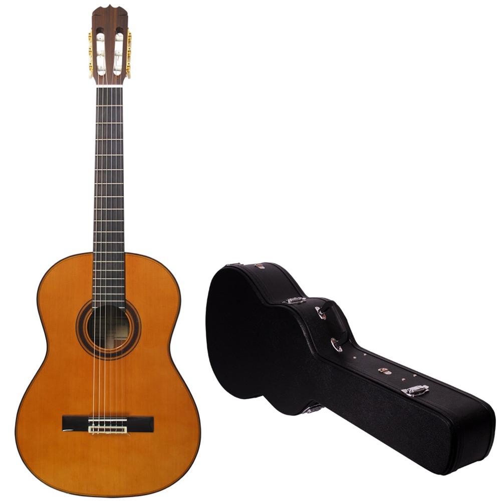 【送料込】【ハードケース付】MATSUOKA/松岡良治 MC-140C 米スギ単板 クラシックギター【smtb-TK】