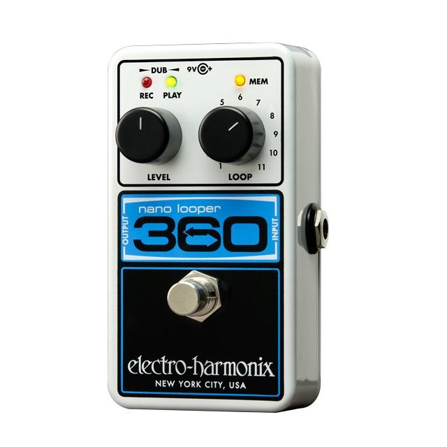 【送料込】【国内正規品】electro-harmonix/エレクトロハーモニックス Nano Looper 360 ペダル ルーパー【smtb-TK】