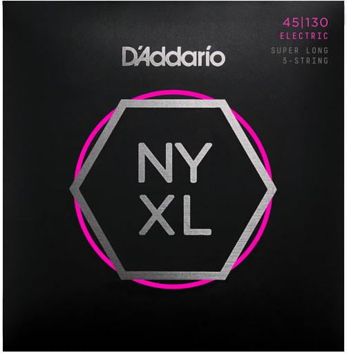 【メール便・送料無料・代引不可】【2セット】D'Addario ダダリオ NYXL45130SL 5弦ベース弦【smtb-TK】