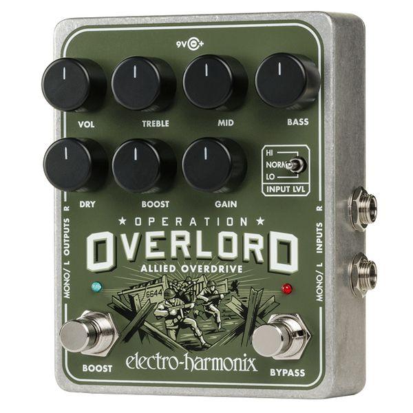 【送料込】ELECTRO HARMONIX エレクトロハーモニックス Operation Overlord Allied Overdrive ステレオ オーバードライブ【smtb-TK】
