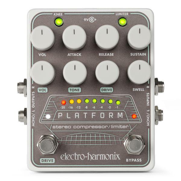 【送料込】ELECTRO HARMONIX Platform Stereo Compressor/Limiter ステレオ・コンプレッサー/リミッター【smtb-TK】