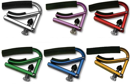 メール便 送料無料 代引不可 6色からお選びください シャブカポ SHUBB アルミ製ライトモデル L1 人気海外一番 L-1 SALE開催中 smtb-TK フォークギター用