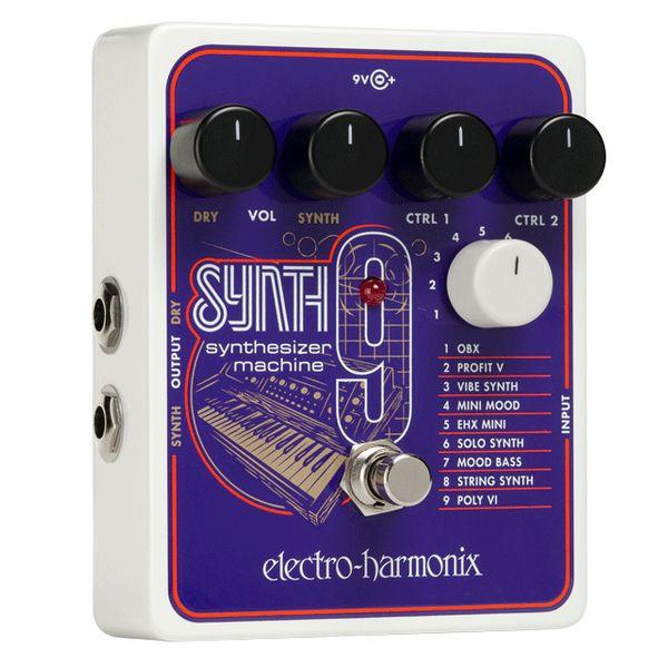 【送料込】electro-harmonix エレクトロハーモニックス SYNTH9 Synthesizer Machine ビンテージ・シンセ エミュレート・ペダル 【smtb-TK】