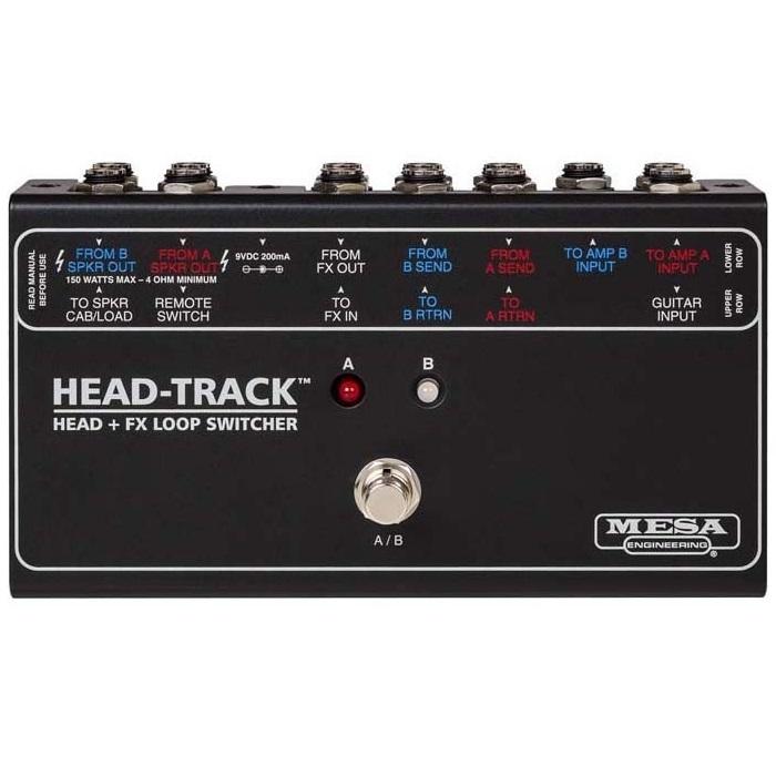【ご予約商品:7/中旬発売】【送料込】MESA/Boogie HEAD-TRACK Head + FX Loop Switcher アンプ・ヘッド + エフェクトループ・スイッチャー【smtb-TK】