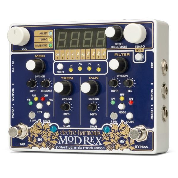 【送料込】【国内正規品】electro-harmonix エレクトロハーモニックス Mod Rex Polyrhythmic modulator ポリリズミック・モジュレーター【smtb-TK】
