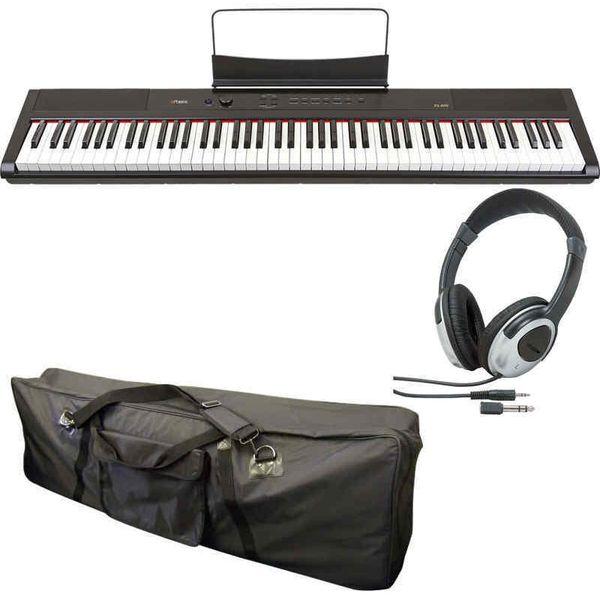 【送料込】【ケース+ヘッドホン付】artesia アルテシア PA-88H/BK 黒 電子ピアノ ハンマー・アクション鍵盤 デジタルピアノ 【smtb-TK】