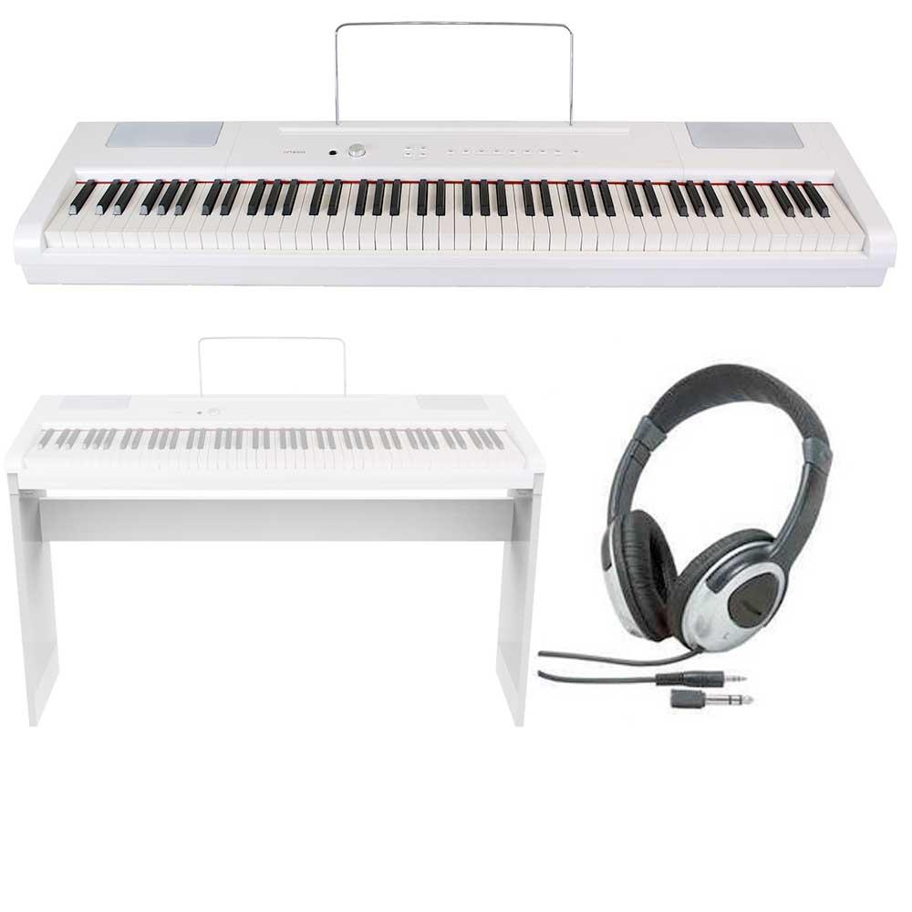 【送料込】【専用スタンド+ヘッドホン付】artesia アルテシア PA-88H/WH 白 電子ピアノ ハンマー・アクション鍵盤 デジタルピアノ 【smtb-TK】
