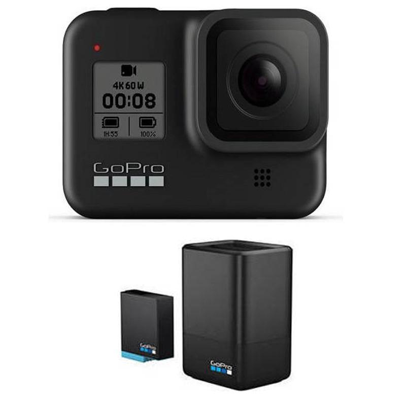 【送料込】【国内正規品】【充電器+バッテリーセット付】GoPro CHDHX-801-FW HERO8 BLACK ウェアラブル・カメラ【smtb-TK】