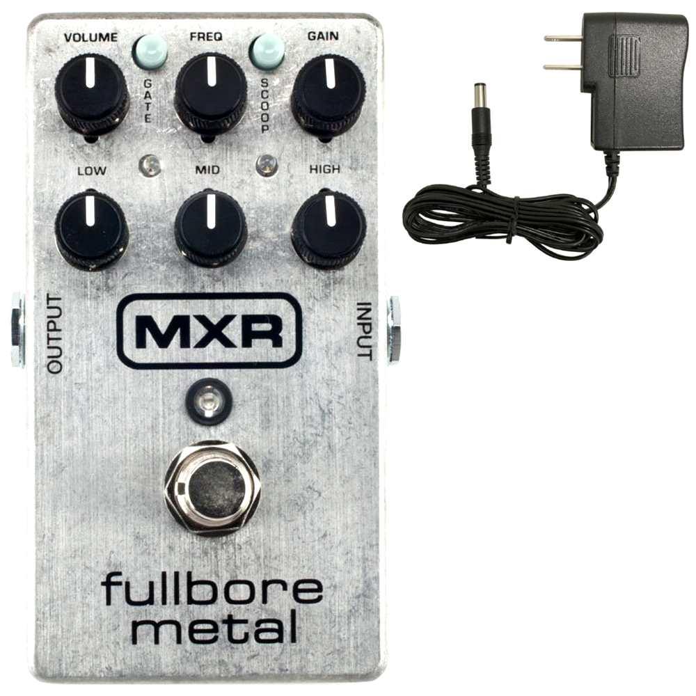 【国内正規品】MXR M116/M-116 Fullbore Metal(汎用ACアダプター付) メタルのためのディストーション【安心の正規輸入品/メーカー保証付】