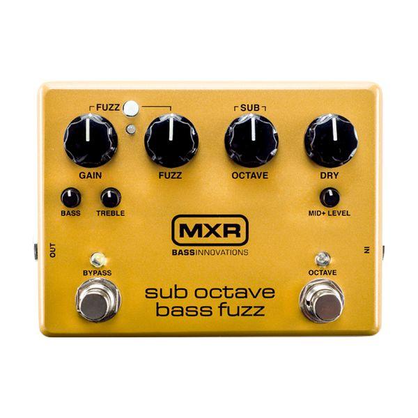【送料込】【国内正規品】MXR M287 Sub Octave Bass Fuzz ベース用 ファズ 【smtb-TK】