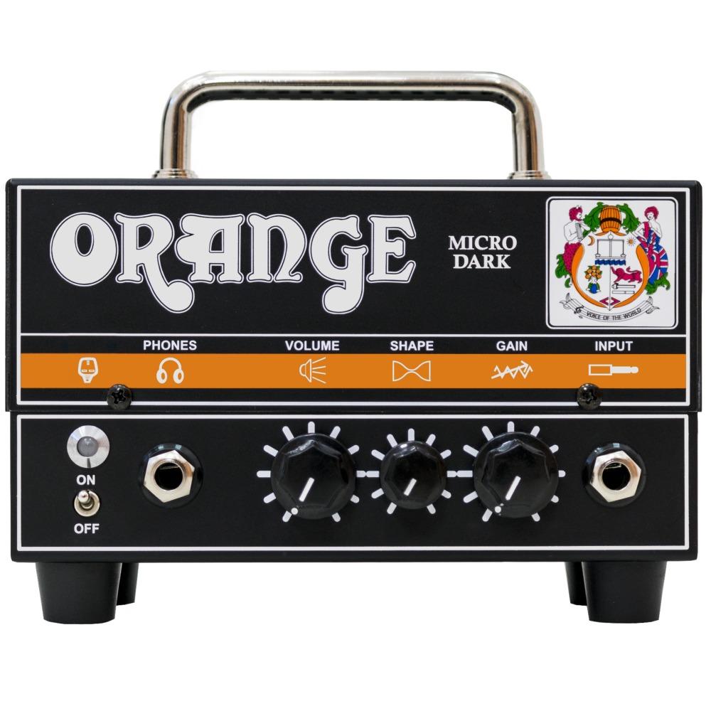 【送料込】Orange オレンジ Micro Dark プリ・チューブ 20W ミニサイズ アンプヘッド【smtb-TK】