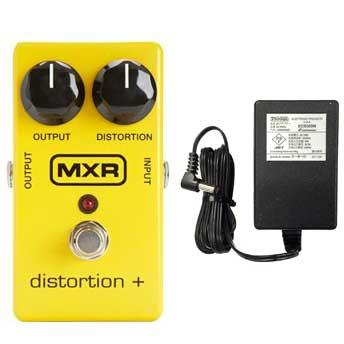 【送料込】【国内正規品】MXR M104/M-104 Distortion+(純正ACアダプター付) 定番のクラシックディストーション【安心の正規輸入品/メーカー保証付】【smtb-TK】