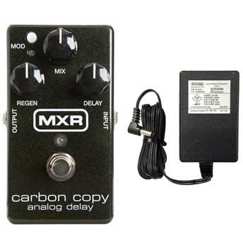 【国内正規品】MXR M169/M-169 Carbon Copy(純正ACアダプター付) BBDによるアナログディレイ【安心の正規輸入品/メーカー保証付】