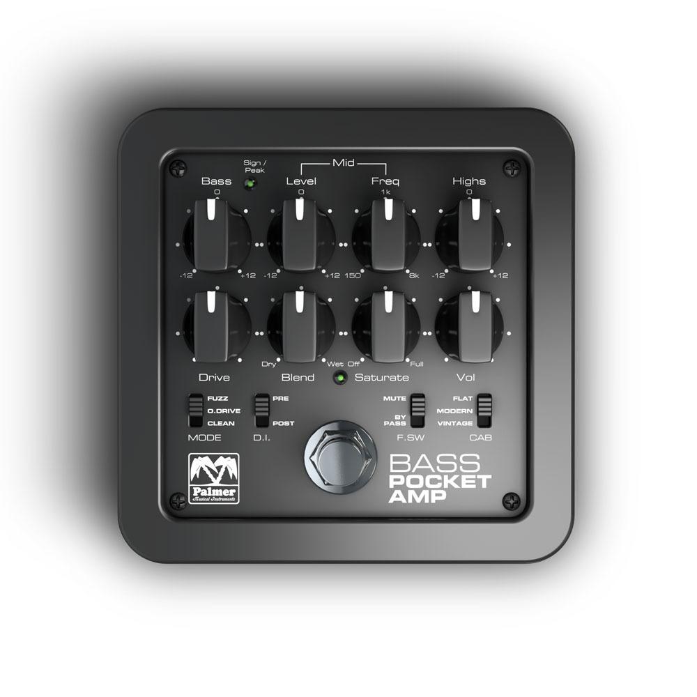 【送料込】Palmer Pocket Amp Bass ベース用 プリアンプ / D.I. 【smtb-TK】