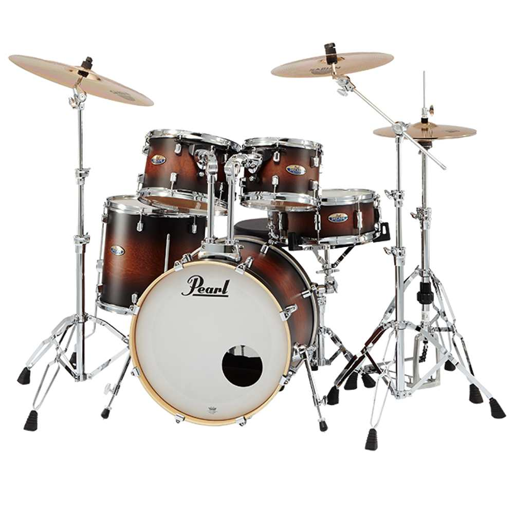 【送料込】【SABIAN B8X シンバル】Pearl パール DMP905/C-DBX No.260 Satin Brown Burst DECADE Maple COMPACT ドラムセット 【smtb-TK】