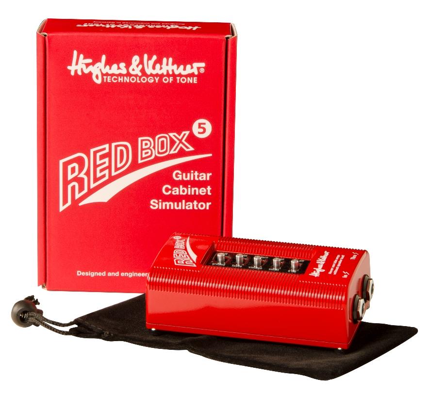 【送料込】Hughes&Kettner/ヒュース&ケトナー RED BOX5(HUK-RB5) ギターキャビネット・シミュレーター【smtb-TK】