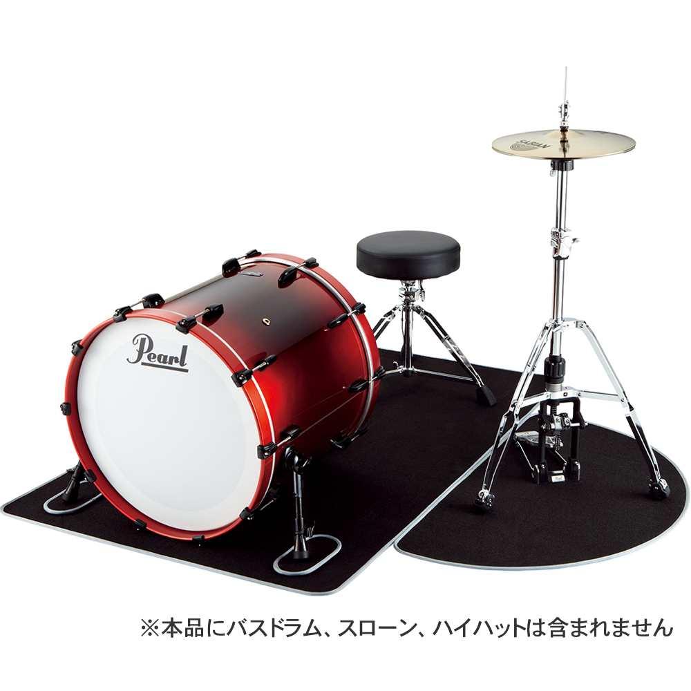【送料込】Pearl パール MAT-10160 セッティングマット ドラムマット【smtb-TK】